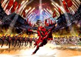 ユニバーサル・スタジオ・ジャパンによるのスペクタクル・ショー『戦国・ザ・リアルat大坂城』のイメージビジュアル