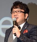 SIMフリーキャリア『FREETEL新製品・新サービス発表会』に登場した天野ひろゆき (C)ORICON NewS inc.