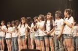 研究生の昇格を発表するサプライズも=『みんなが主役!SKE48 59人のソロコンサート〜未来のセンターは誰だ?〜』2日目夜公演より(C)AKS