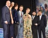 (左から)デヴィッド・イェーツ監督、キャサリン・ウォーターストン、DAIGO、エディ・レッドメイン、アリソン・スドル、ダン・フォグラー、デイビッド・ヘイマン (C)ORICON NewS inc.
