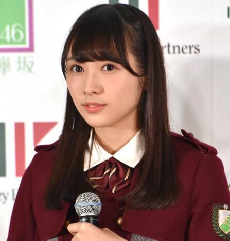 「欅坂46×マネーパートナーズ」マネパカード宣伝部発足式に出席した渡辺梨加 (C)ORICON NewS inc.