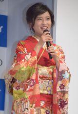 小島瑠璃子=ブラザーインクジェットプリンター『プリビオ』新CM発表会 (C)ORICON NewS inc.