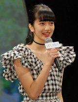 映画『ぼくは明日、昨日のきみとデートする』完成披露舞台あいさつに出席した小松菜奈 (C)ORICON NewS inc.