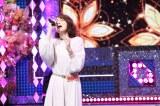 『テレビ東京系「THEカラオケ★バトル」BEST ALBUM』(12月21日発売)に参加する宝塚最強の歌声をもつ涙ジェンヌ・RiRiKA(C)テレビ東京