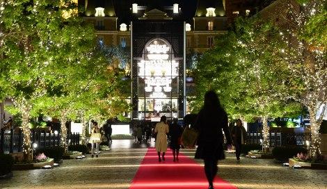 サムネイル 恵比寿ガーデンプレイスのクリスマスイベント『Baccarat ETERNAL LIGHT-歓びのかたち-』が5日より開催 (C)oricon ME inc.