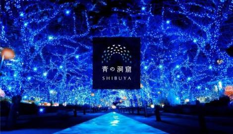 サムネイル 2014年に開催し好評を博した冬イルミ企画「青の洞窟」が2年ぶりに渋谷で復活
