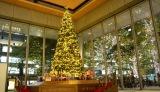 丸ビル(東京・千代田区)で披露された、クリスマスイベント「Marunouchi Bright Christmas 2016 〜不思議なくるみ割り人形の物語〜」の巨大ツリー (C)oricon ME inc.
