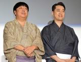 3年連続で『紅白ウラトークチャンネル』の司会を務めることが発表されたバナナマン(左から)日村勇紀、設楽統 (C)ORICON NewS inc.