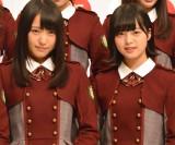 欅坂46 (左から)菅井友香、平手友梨奈 (C)ORICON NewS inc.