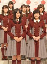 『第67回NHK紅白歌合戦』に出場が決まった欅坂46 (C)ORICON NewS inc.