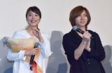 Acid Black Cherryのyasu(右)のサプライズ登場に笑顔の広瀬アリス (C)ORICON NewS inc.