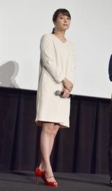 主演映画『L-エル-』初日舞台あいさつに登壇した広瀬アリス (C)ORICON NewS inc.