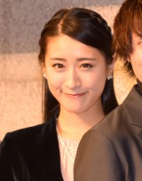 ミュージカル『レ・ミゼラブル』30周年記念公演記者会見に出席した松原凛子 (C)ORICON NewS inc.