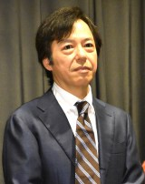 映画『ジムノペディに乱れる』初日舞台あいさつに出席した板尾創路 (C)ORICON NewS inc.