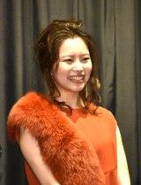 映画『ジムノペディに乱れる』初日舞台あいさつに出席した岡村いずみ (C)ORICON NewS inc.