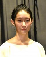 映画『ジムノペディに乱れる』初日舞台あいさつに出席した芦那すみれ (C)ORICON NewS inc.