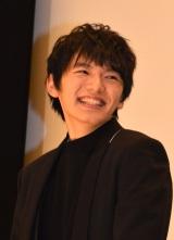 映画『疾風ロンド』公開初日舞台あいさつに登壇した濱田龍臣 (C)ORICON NewS inc.