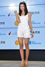 『エイジアグループ Presents セルフィーオーディション2016』グランプリの岡本莉音さん全身ショット (C)ORICON NewS inc.