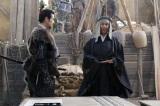 NHK大河ドラマ『真田丸』第44回より。出城を築く幸村の前に有楽斎が現れ…(C)NHK