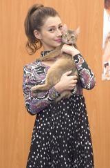 フォトブック『MY BABY COCO美さんと、ジジ吉と』の刊行記念インタビューに応じたダレノガレ明美 (C)ORICON NewS inc.