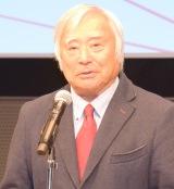 『WELLNESS AWARD OF THE YEAR 2016』の表彰式に出席した三浦雄一郎氏 (C)ORICON NewS inc.