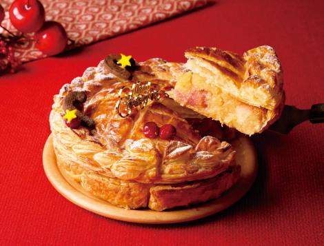 サムネイル 「リトル・パイ・ファクトリー」から贅沢な『クリスマス限定アップルパイ』が登場