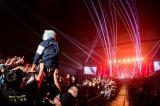 全国ツアーの追加公演をインテックス大阪で開催したMAN WITH A MISSION Photo by Nobuyuki Kobayashi,Daisuke Sakai(FYD inc.)