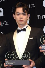 『GQ MEN OF THE YEAR 2016』授賞記者会見に出席した菅田将暉 (C)ORICON NewS inc.