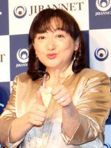 『地盤ネット ジバングー』新CMお披露目会に出席したエド・はるみ (C)oricon ME inc.