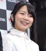 人気ゲームシリーズ最新作『FINAL FANTASY XV』発売記念イベントに出席した北川里奈 (C)ORICON NewS inc.