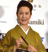 名取裕子、V6長野&白石の結婚祝福