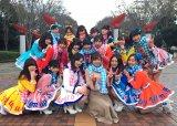 テレビ東京・紺野あさ美アナがSKE48とダンス共演