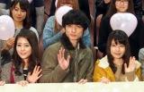 (左から)高畑充希、高良健吾、有村架純 (C)ORICON NewS inc.