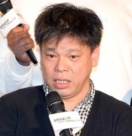 Amazonプライム・ビデオの新作バラエティー・シリーズ『HITOSHI MATSUMOTO Presents ドキュメンタル』の完成披露イベントに出席したジミー大西 (C)ORICON NewS inc.