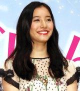 映画『僕らのごはんは明日(あした)で待ってる』完成披露試写会に出席した新木優子 (C)ORICON NewS inc.