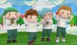 12月8日放送の『SONGS』で4人そろってTV初出演するGReeeeN(C)NHK