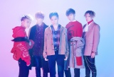 FlowBack(写真左からREIJI、TATSUKI、MARK、MASAHARU、JUDAI)