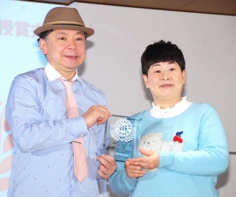 『第9回 ペアレンティングアワード』授賞式に出席した鈴木おさむ・大島美幸夫妻 (C)ORICON NewS inc.