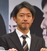 ドラマ『リテイク 時をかける想い』の制作発表に出席した筒井道隆 (C)ORICON NewS inc.