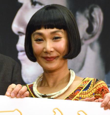 ドラマ『リテイク 時をかける想い』の制作発表に出席した浅野温子 (C)ORICON NewS inc.