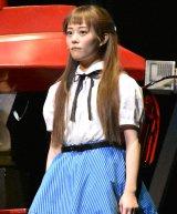ランドセル姿で12歳役熱演する高畑充希=ミュージカル『わたしは真悟』公開ゲネプロ (C)ORICON NewS inc.