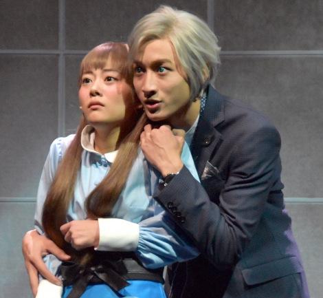 ミュージカル『わたしは真悟』公開ゲネプロに参加した(左から)高畑充希、小関裕太 (C)ORICON NewS inc.