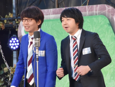 『M-1グランプリ2016』敗者復活戦に出場した三四郎 (C)ORICON NewS inc.