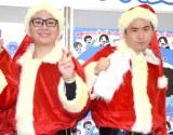 M-1新王者の銀シャリをけん制したトレンディエンジェル(左から)たかし、斎藤司 (C)ORICON NewS inc.