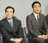 約30年にわたり『大岡越前』に主演した加藤剛(左)と息子の加藤頼 (C)ORICON NewS inc.