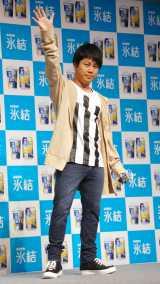 『トレンディスタイル結成式 Powered by あたらしくいこう 氷結』に出席したNON STYLE・井上裕介 (C)ORICON NewS inc.