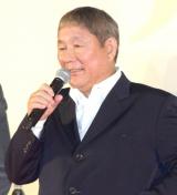 『龍が如く6 命の詩。』の完成披露イベントに出席したビートたけし (C)ORICON NewS inc.