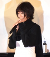『龍が如く6 命の詩。』の完成披露イベントに出席した真木よう子 (C)ORICON NewS inc.