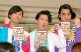 『キングオブコント2011』優勝賞金1000万円授与式に出席したジャングルポケット (C)ORICON DD inc.