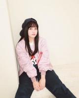 ピンクメイクで新しい一面を見せた橋本環奈(『mini』1月号=宝島社)
